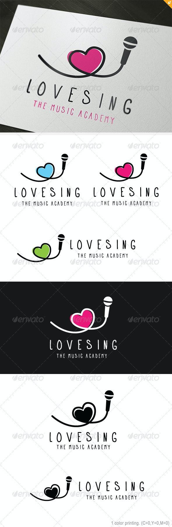 Love Sing Logo - Objects Logo Templates