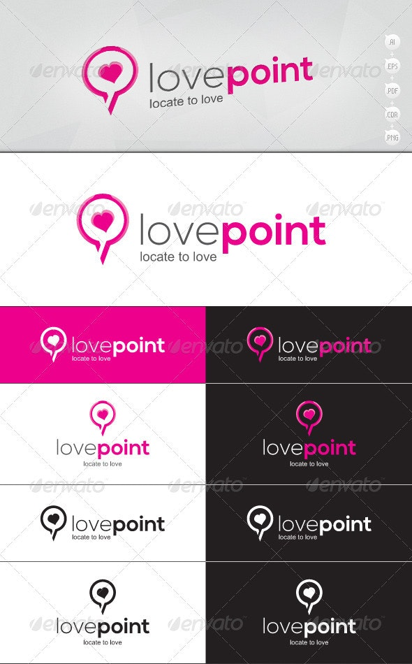 Lovepoint Logo - Vector Abstract