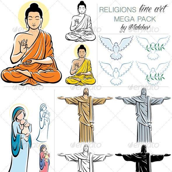 Religions Mega Pack