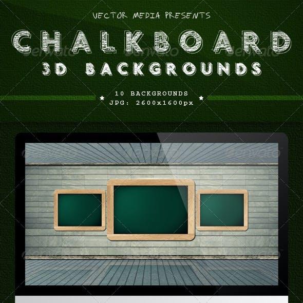 Chalkboard - 3D Backgrounds