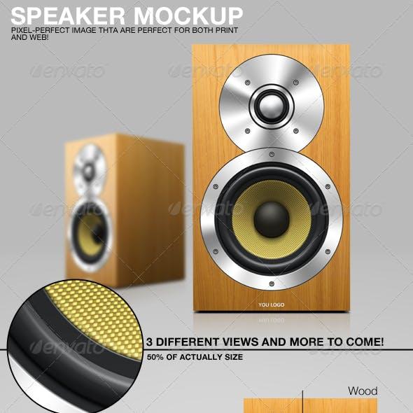 Speaker Mockup