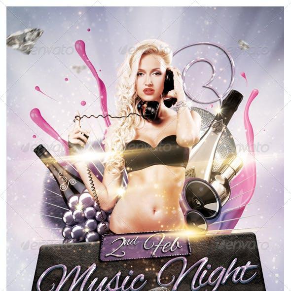 Music Night Flyer 6 x 4