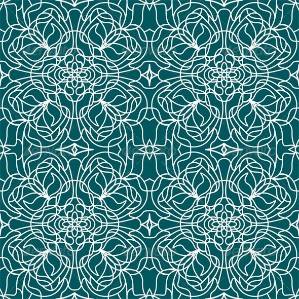 Seamless pattern tiffany - Patterns Decorative