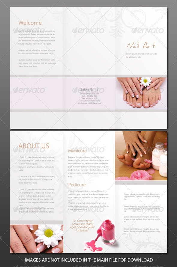 Beauty Salon Brochure - Corporate Brochures