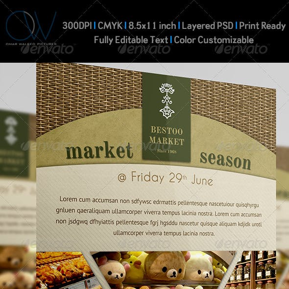 Shop - Market Flyer