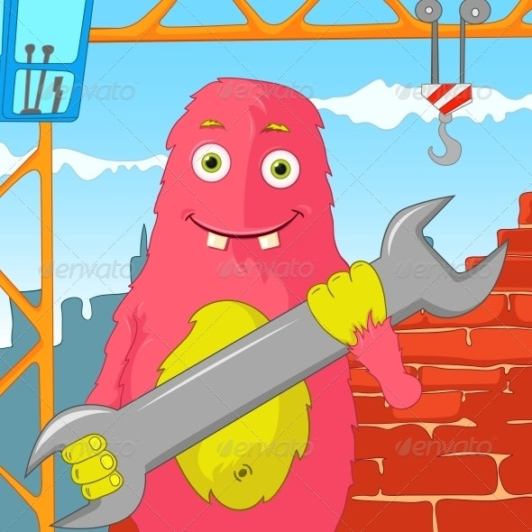 Funny Monster. - Monsters Characters