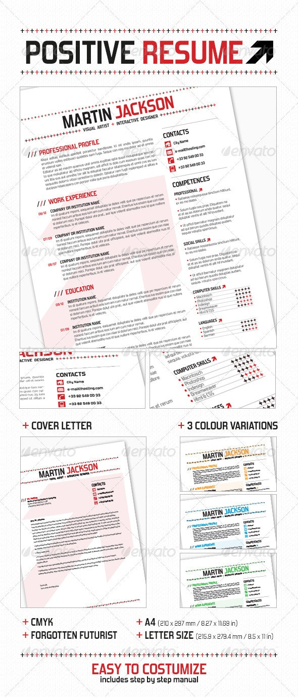 Positive Resume - Resumes Stationery