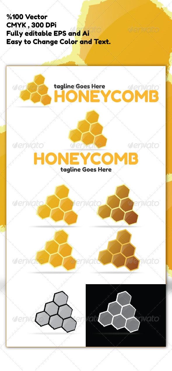 Honeycomb Logo - Nature Logo Templates