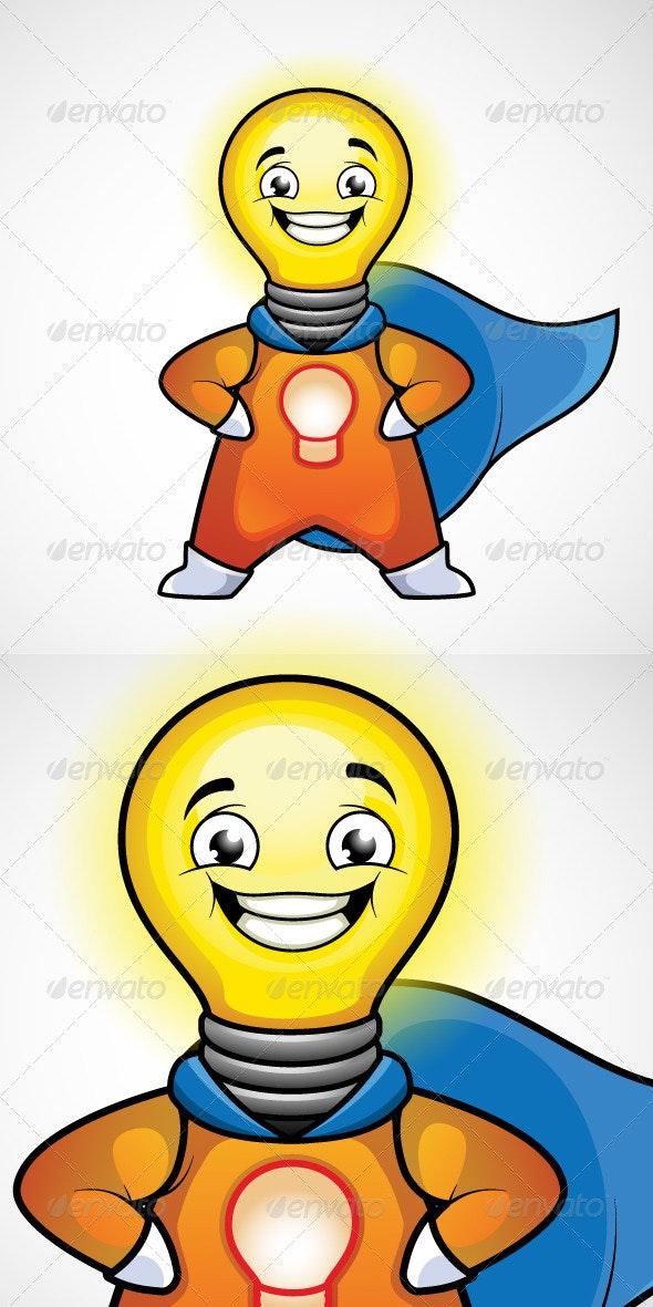 Idea Man. Superhero. - Miscellaneous Characters