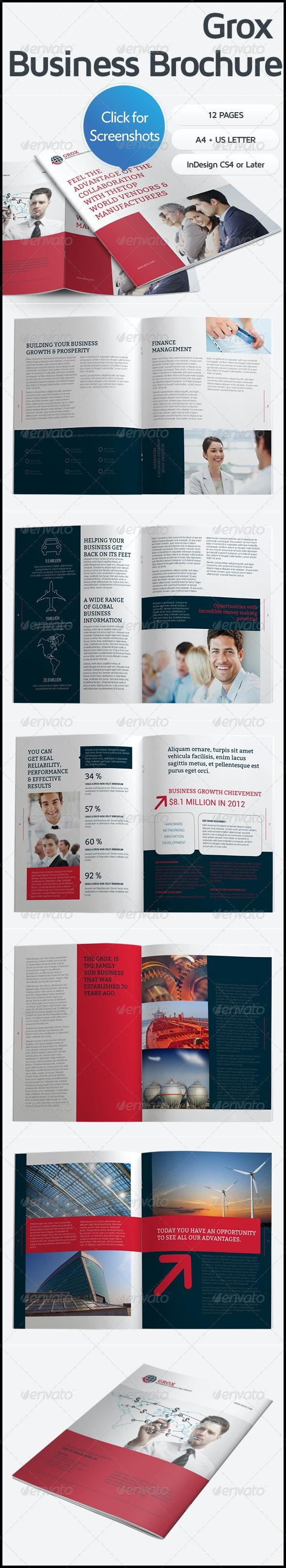 Grox Business Brochure - Corporate Brochures