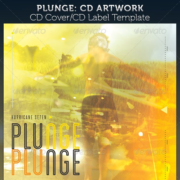 Plunge CD Cover Artwork Template
