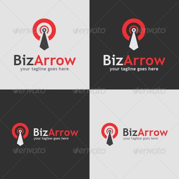 BizArrow Logo Template