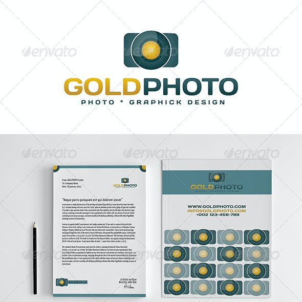 GOLD PHOTO Stationery
