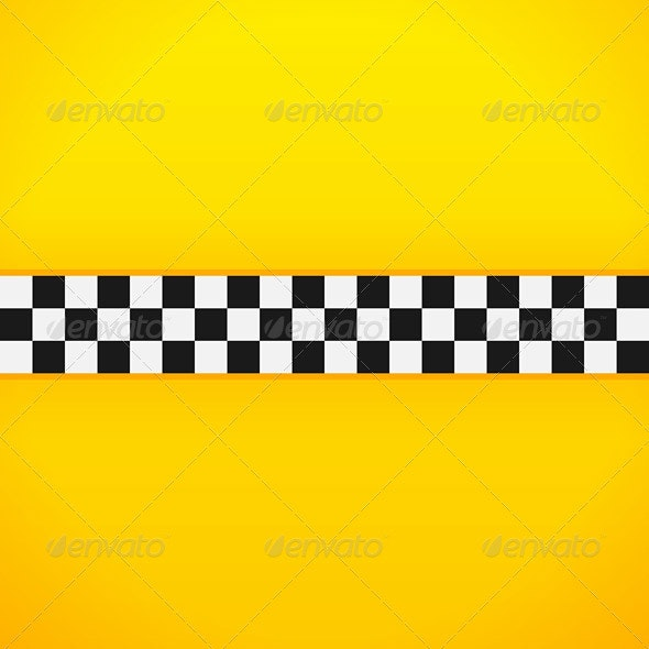 Yellow Checkerboard Pattern - Business Conceptual