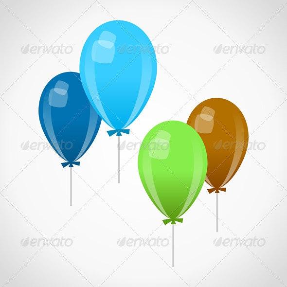 Decoration Balloons - Birthdays Seasons/Holidays