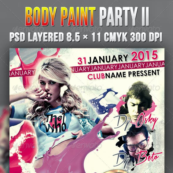Body Paint Party II