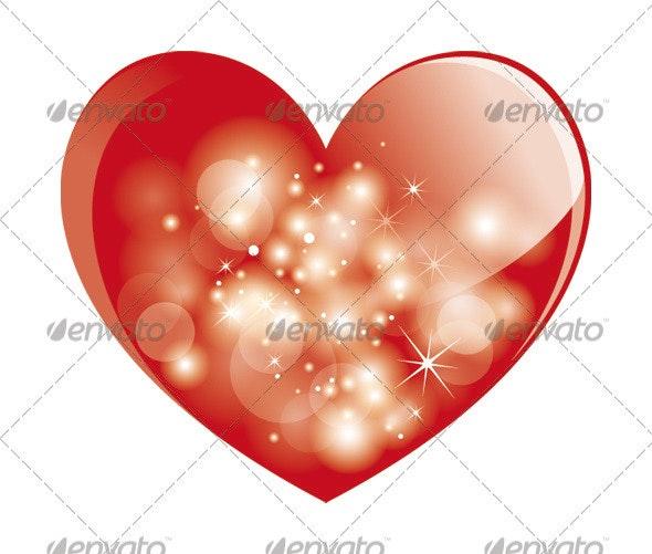 Sparkling Heart - Valentines Seasons/Holidays