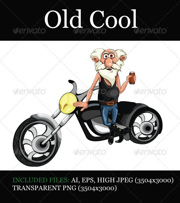 Old Cool - People Characters
