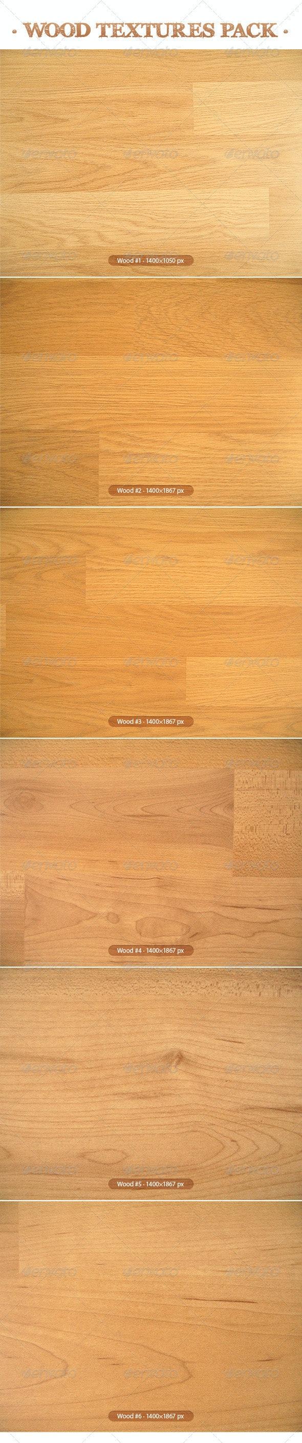 Wood Textures Pack - Wood Textures