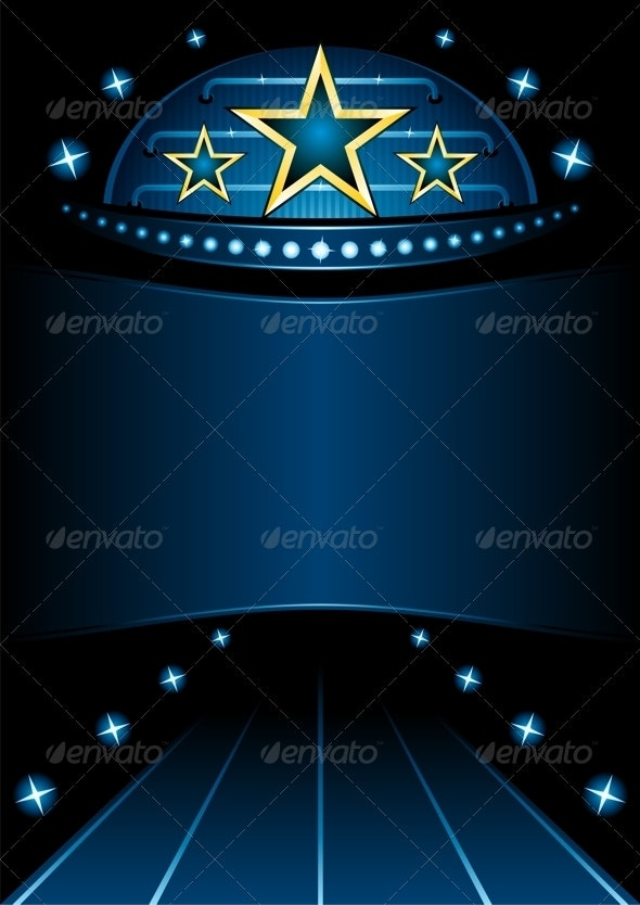 Grand Premiere Vector Illustration - Backgrounds Decorative