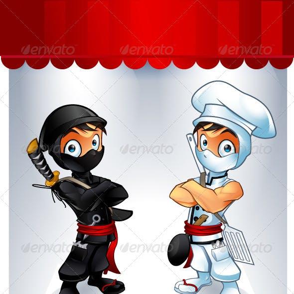 Ninja and Chef Customizable