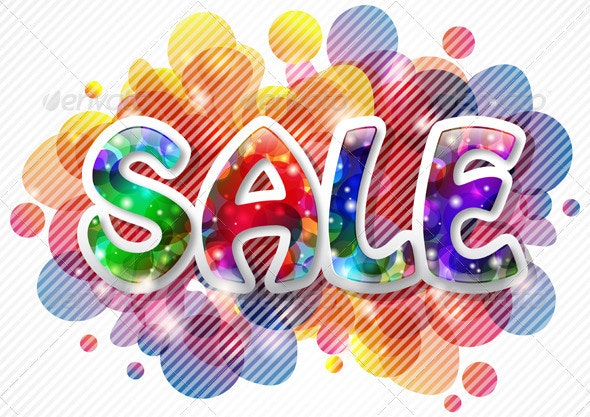 Sale Background - Retail Commercial / Shopping