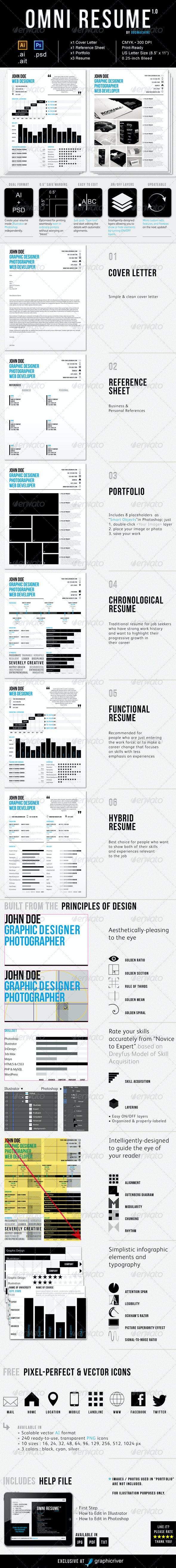 Omni Resume - Resumes Stationery