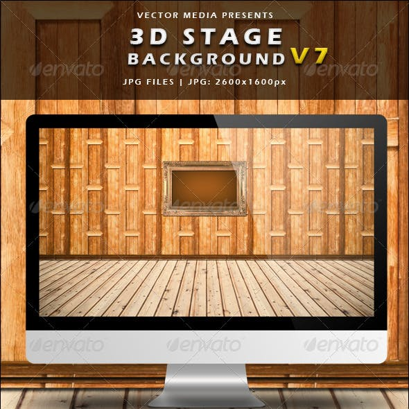 3D Stage Background - Vol.7