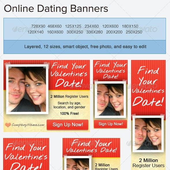 Valentine's Day Banner Ad