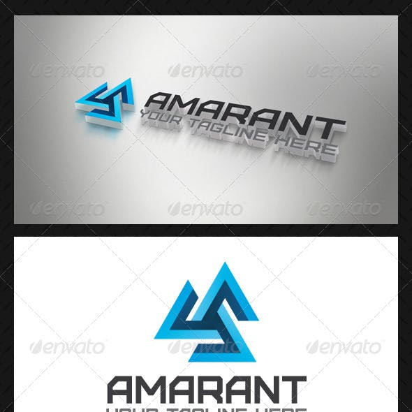Amarant Tech Logo Template