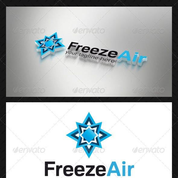 Freeze Air Logo Template