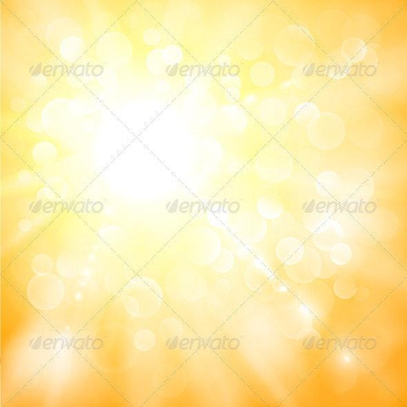 Sunshine Background - Backgrounds Decorative