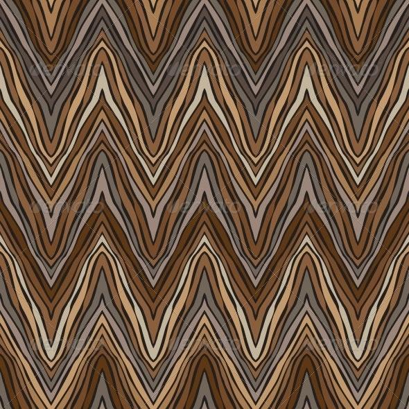 Psychedelic Linear Zigzag Pattern - Patterns Decorative