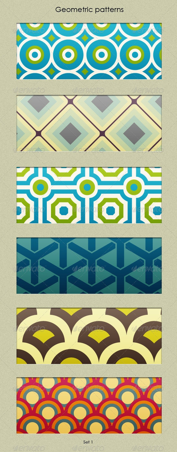 Geometric Patterns Set - Patterns Decorative
