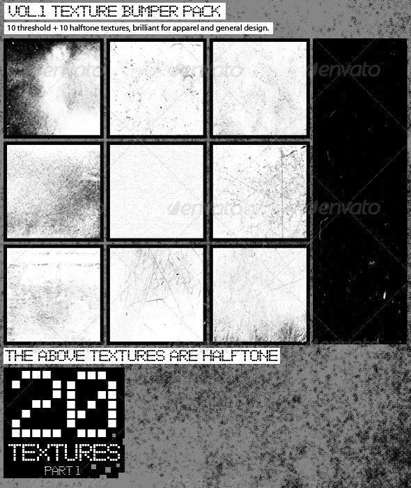 Texture Bumper Pack Vol.1  - Textures