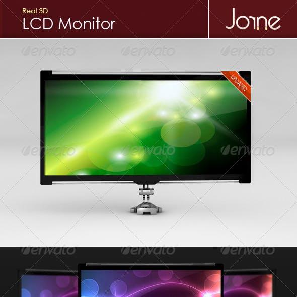 Real 3D LCD Monitor