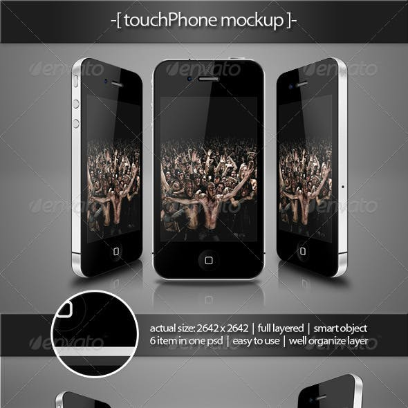 Touch Phone Mockup