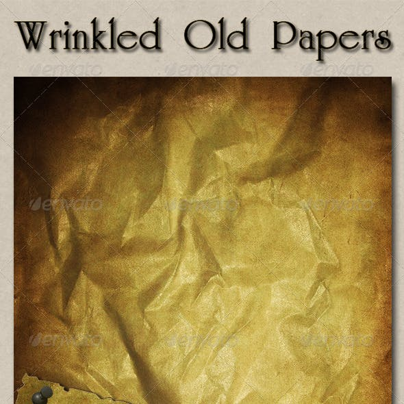Wrinkled Old Papers