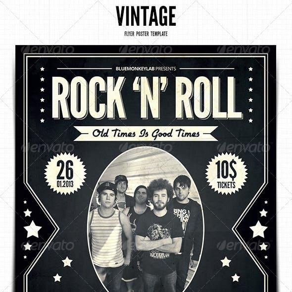 Vintage Flyer / Poster 3