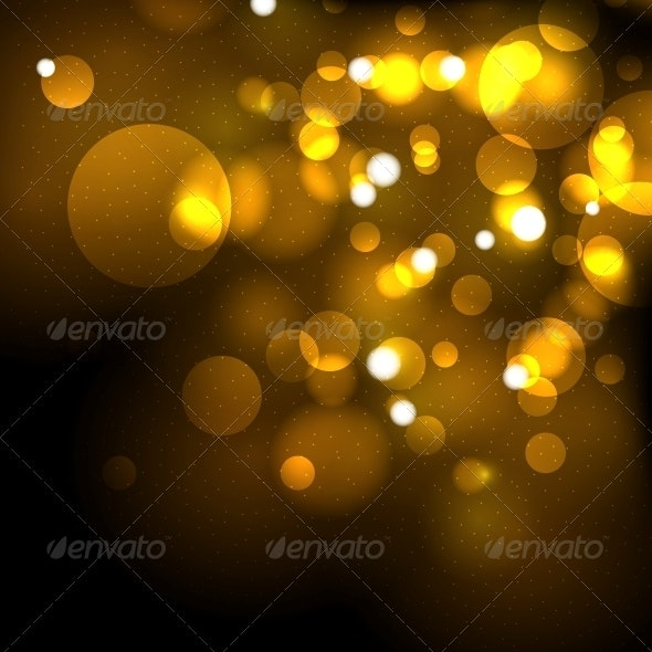 Gold Festive Abstract Vector Background - Backgrounds Business