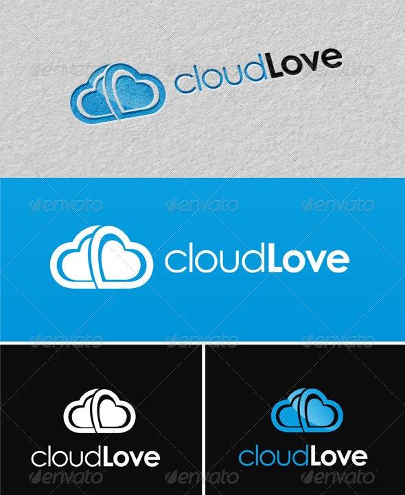 CloudLove Logo Template - Symbols Logo Templates