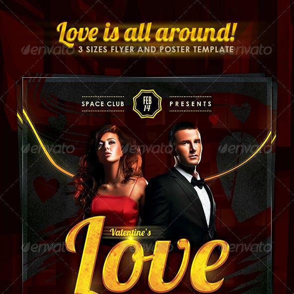 Valentine's Love Is All Around Party