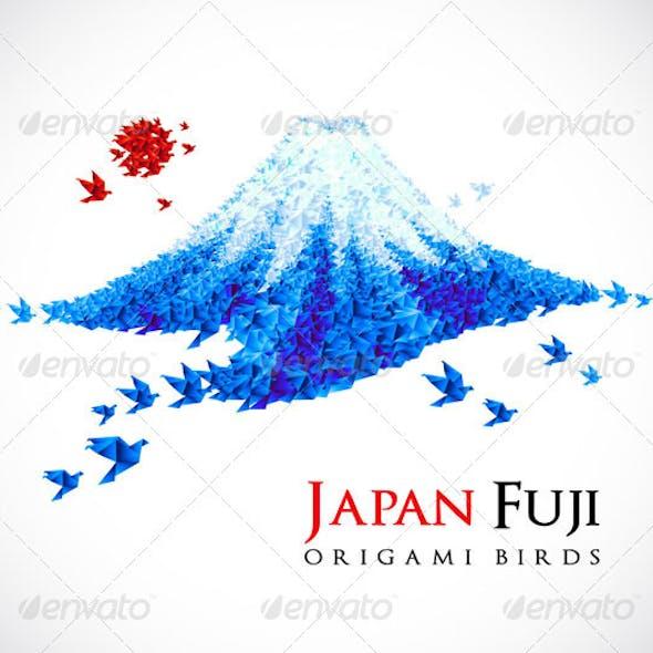 Origami - Fuji mount