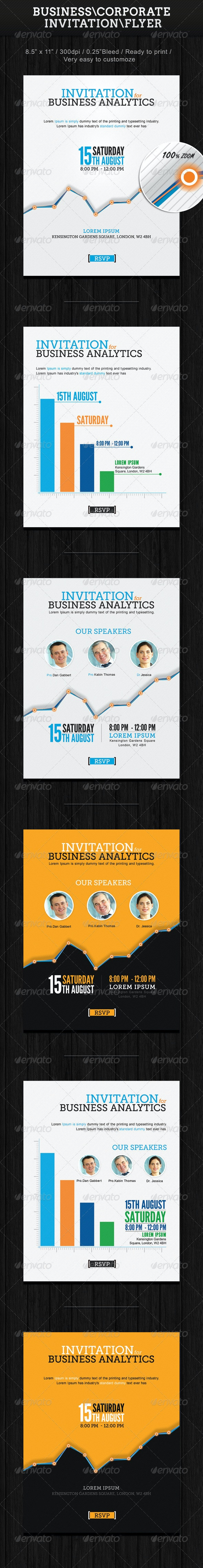 Business Invitation - Events Flyers