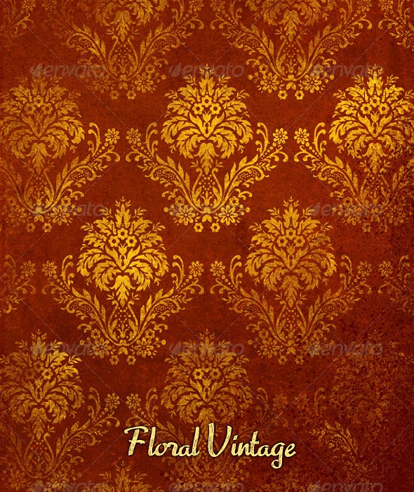Flower Vintage Pattern - Patterns Decorative