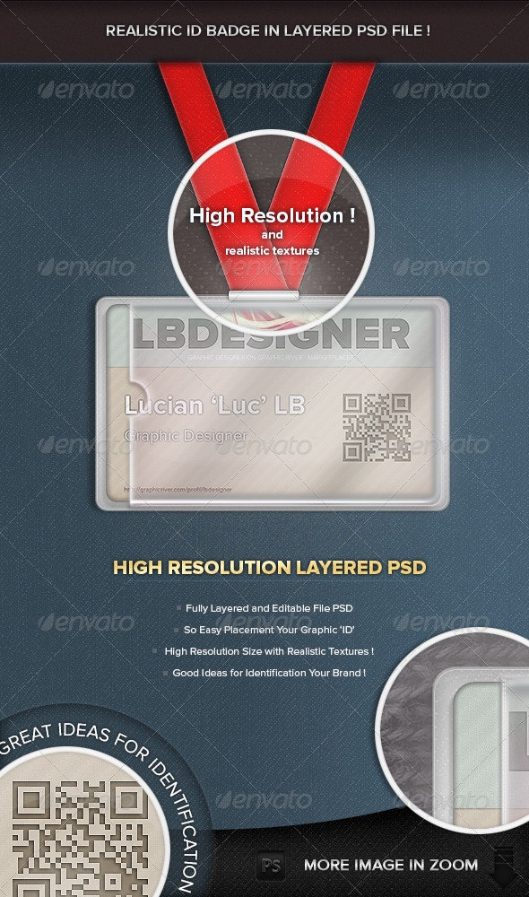 ID Badge, Cover  - Miscellaneous Backgrounds