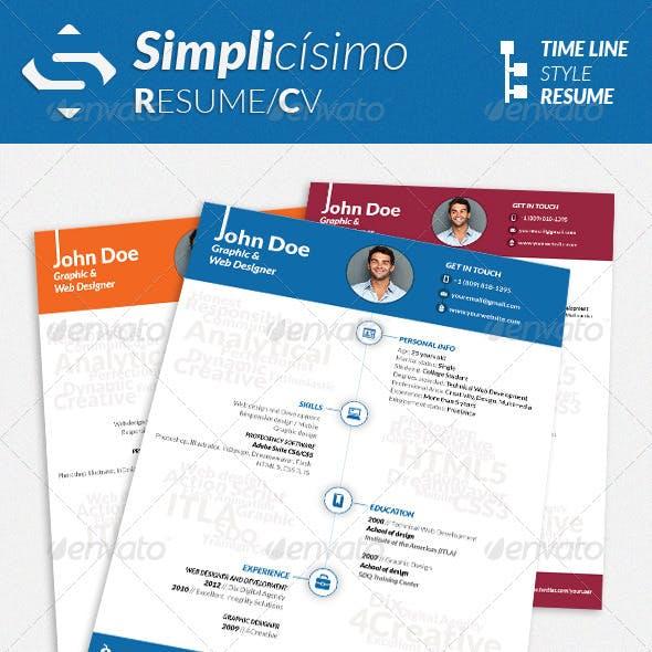 Simplicísimo - CV/Resume