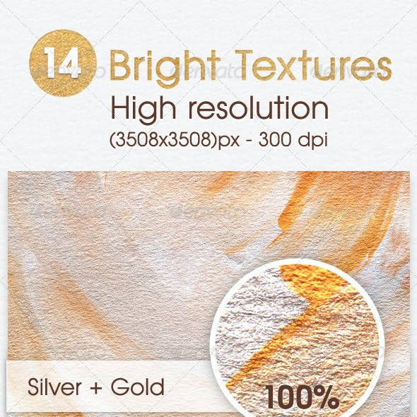 14 Bright Textures - High Resolution