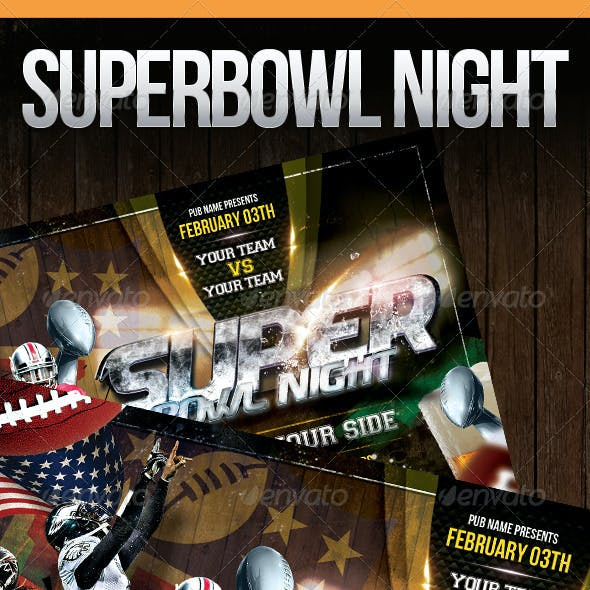 Superbowl Night