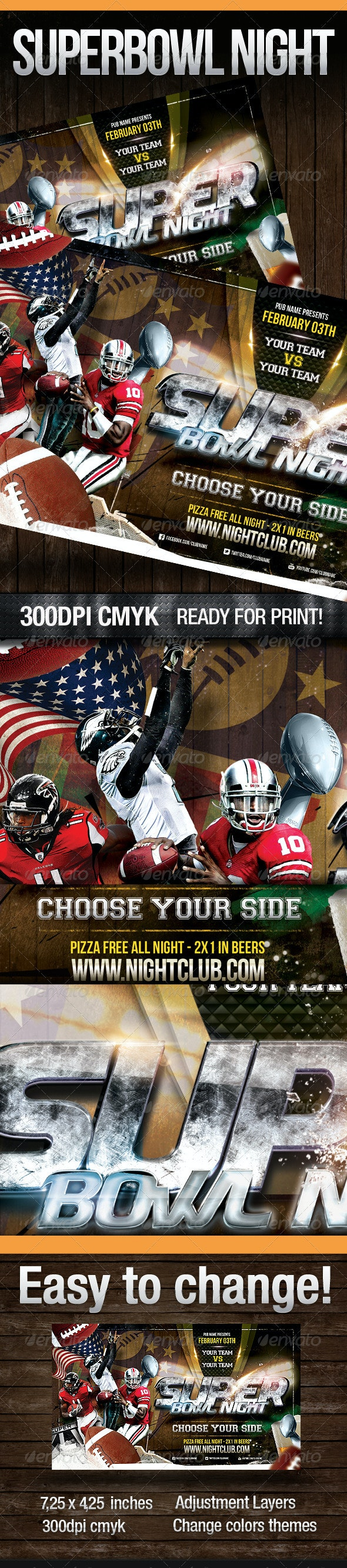Superbowl Night - Sports Events